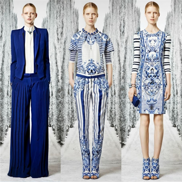 resort collection blue+white