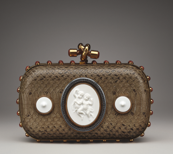 Bottega-Veneta-Brique-Verre-Irise-Brown-Zircon-Porcelain-Bronze-Ayers-Knot-Bag-Fall-2013+blog le chodraui