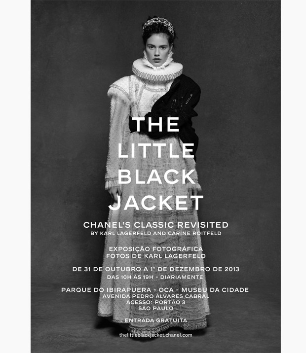 The Little Black Jacket – Chanel's Classic revisited by Karl Lagerfeld and Carine Roitfeld