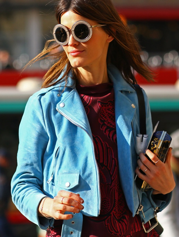 Best-Accessory-Trends-Culled-from-Street-Style-Snaps-Round-Sunglasses-le-chodraui