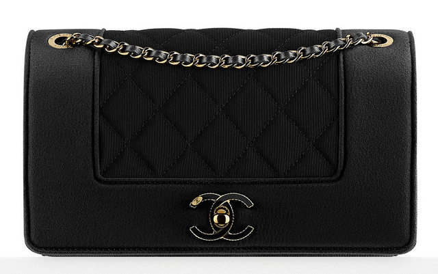 Chanel-Grosgrain-and-Satin-Flap-Bag-2500