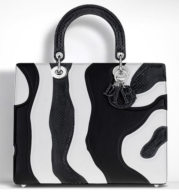 Christian-Dior-Lady-Dior-Bag-Patchwork-Leather-and-Python