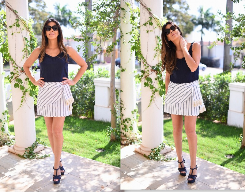 look-do-dia-le-chodraui-ribeirão-preto-saia-listrada-cris-barros-navy-look-sandália-yves-saint-laurent-azul-fashion-blogger1