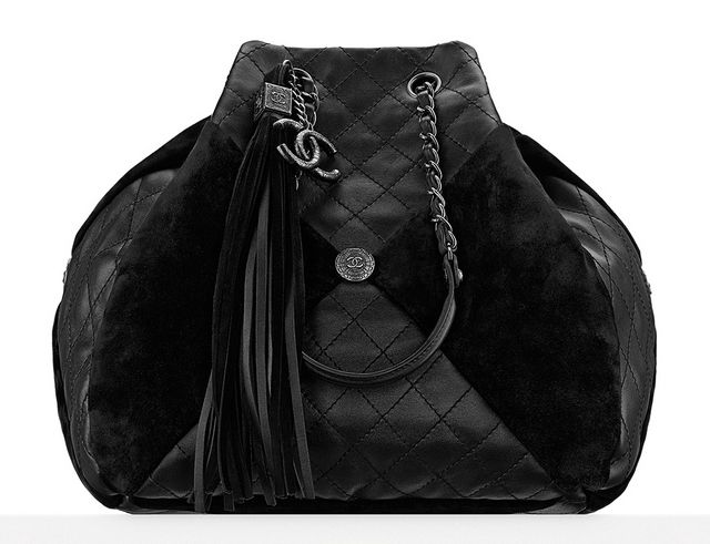 Bolsa-Chanel-Leather-and-Suede-Patchwork-Drawstring-Bag-4300