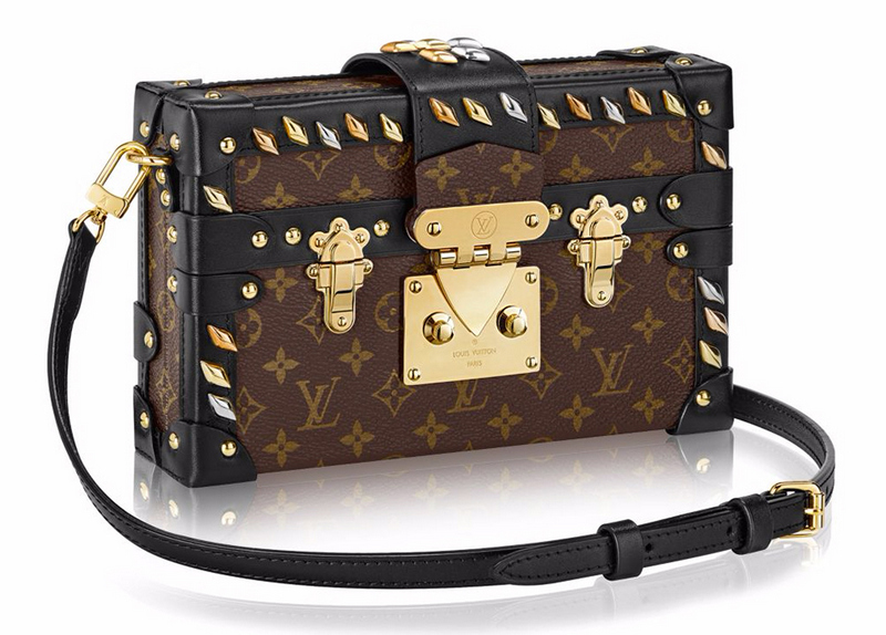 bolsa-Louis-Vuitton-Monogram-Studded-Petite-Malle-with-Strap-le-chodraui-luxo-luxury-fashion-blog-blog-de-moda-ribeirão-preto