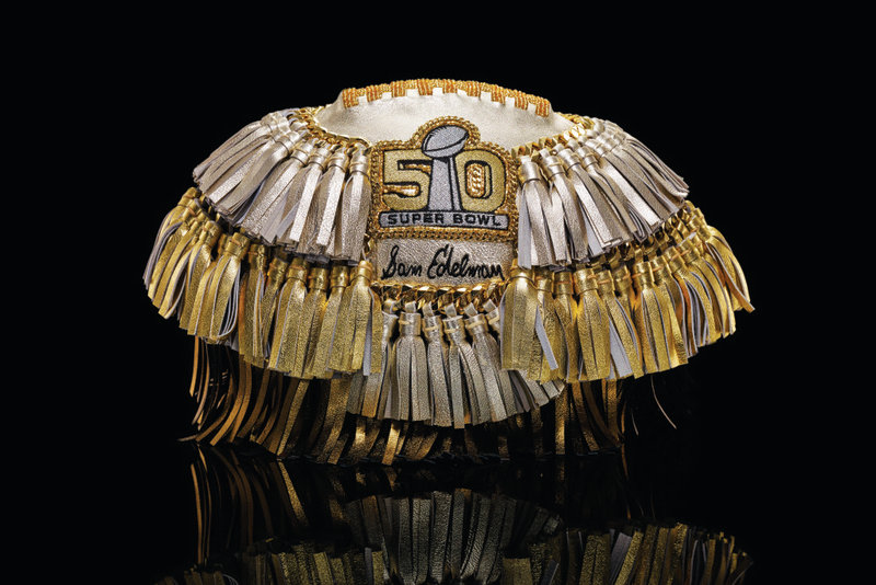 Designers Create Bespoke Footballs for Super Bowl 50